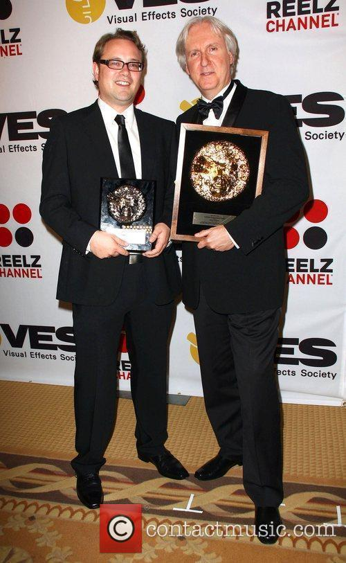 Thilo Ewres and James Cameron 8th Annual VES...