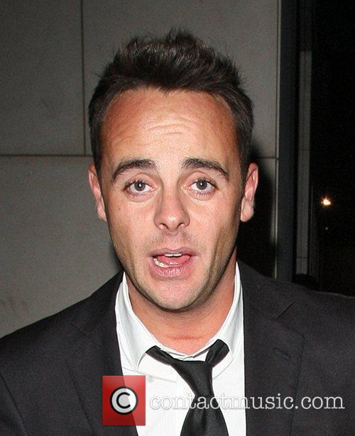 Ant McPartlin looking worse for wear as he...