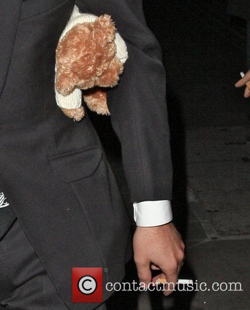 Ant McPartlin's teddy bear Ant McPartlin looking worse...