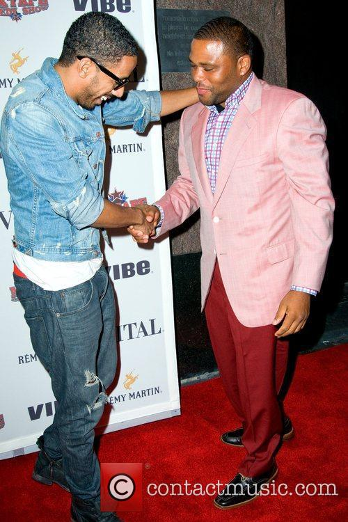 Ryan Leslie and Anthony Anderson 1