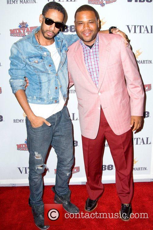 Ryan Leslie and Anthony Anderson 5