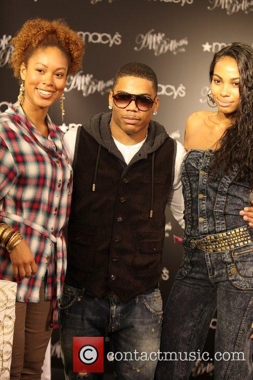 Nelly Cornell Haynes Jr. and Models  Macy's...