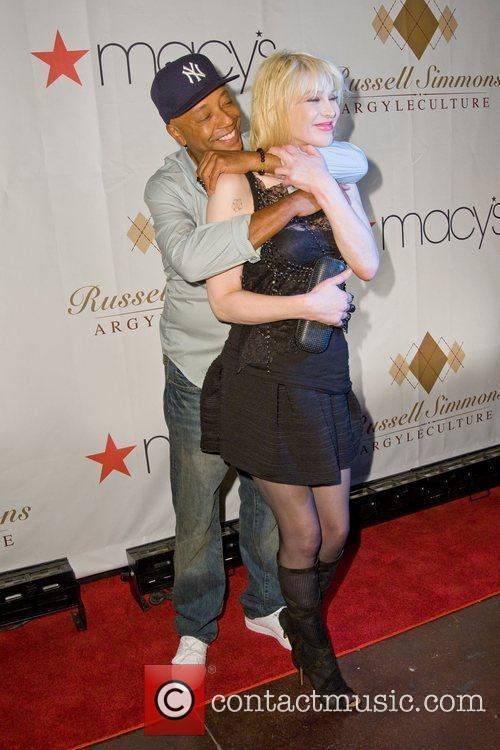 Russell Simmons and Courtney Love 2