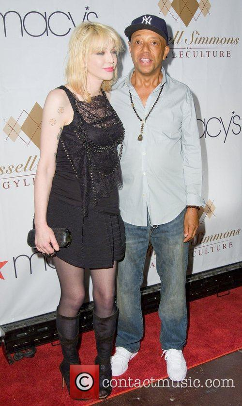 Russell Simmons and Courtney Love 4