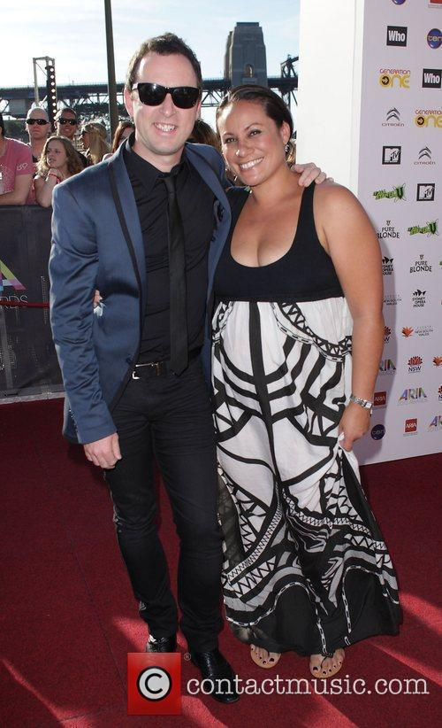 Damien Leith and his wife The 2010 Australian...