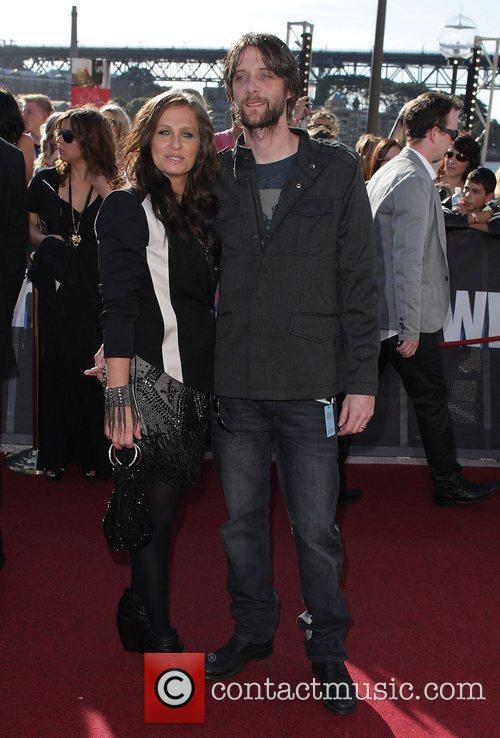 Kasey Chambers and partner The 2010 Australian Recording...