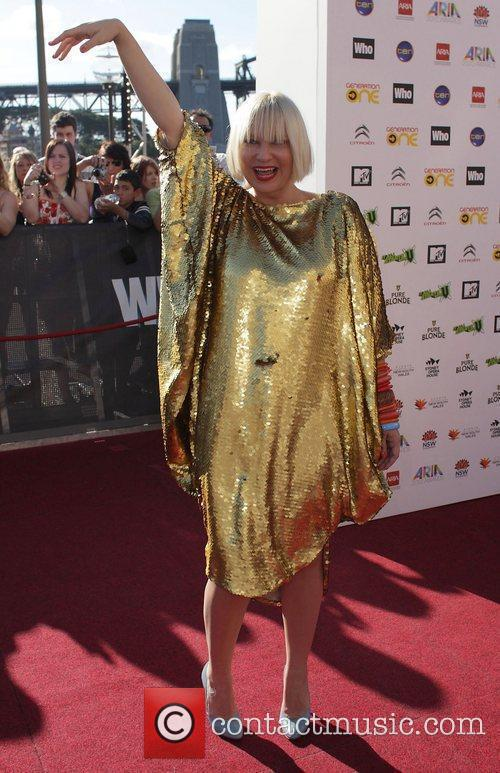 Sia The 2010 Australian Recording Industry Association 'ARIA'...