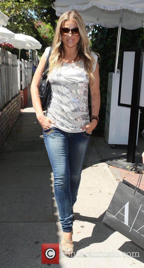 Carmen Electra at A|X Armani Exchange on Robertson...