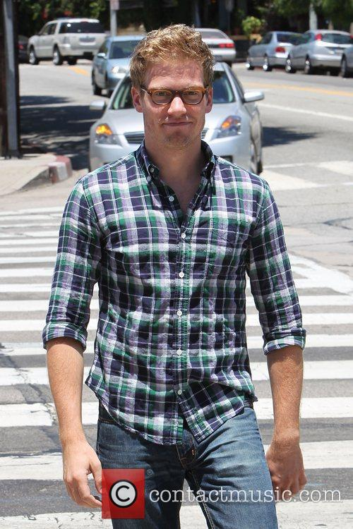 Barrett Foa at A|X Armani Exchange on Robertson...
