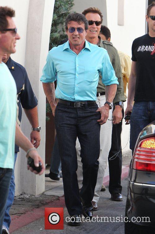 Sylvester Stallone and Arnold Schwarzenegger 5