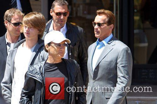 Patrick and Arnold Schwarzenegger 1
