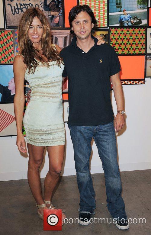 Kelly Bensimon and Jonathan Cheban attend Art Basel...