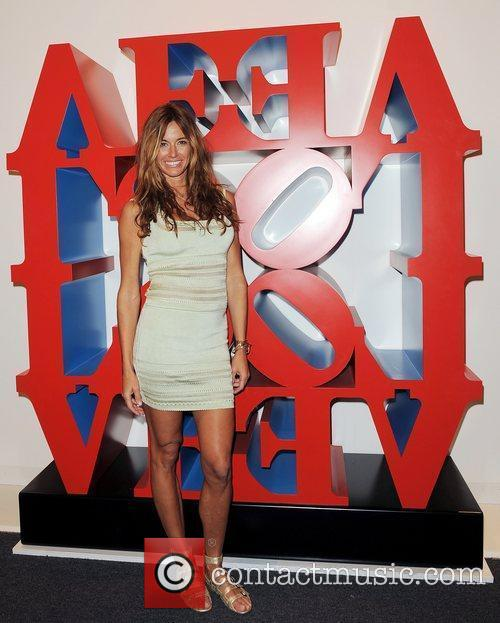 Attends Art Basel 2010 at the Miami Beach...