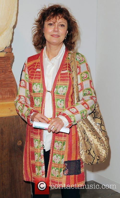Susan Sarandon attends Art Basel 2010 at the...