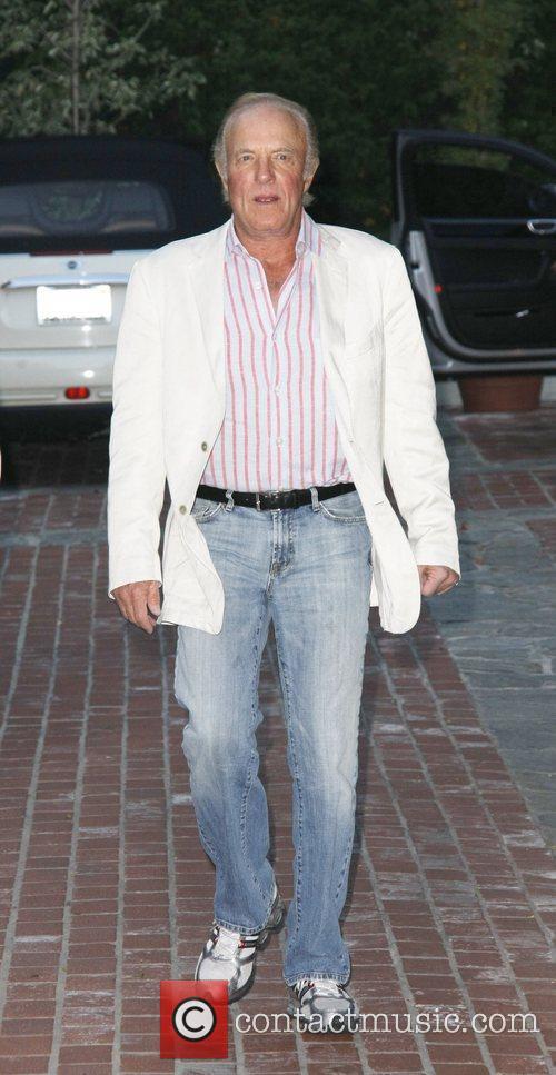 American actor James Caan arrives at an art...