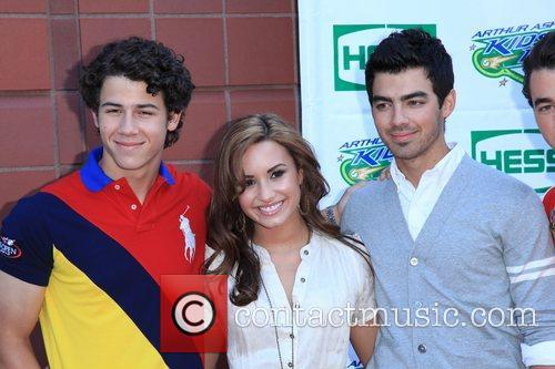 Jonas Brothers, Billie Jean King and Demi Lovato 1