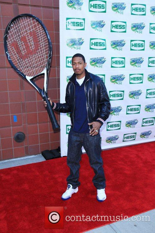 Nick Cannon and Billie Jean King 2
