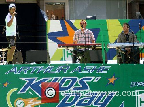 Novak Djokovic 2010 US Open Arthur Ashe Kids...