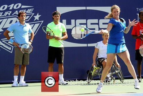 Roger Federer, Billie Jean King and Rafael Nadal 3