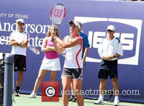 Kim Clijsters 2010 US Open Arthur Ashe Kids...