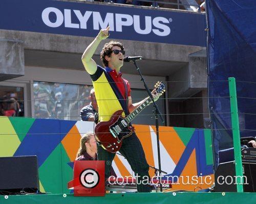 Nick Jonas 2010 US Open Arthur Ashe Kids...
