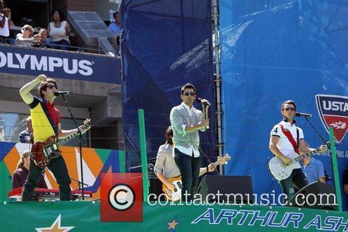 The Jonas Brothers 2010 US Open Arthur Ashe...