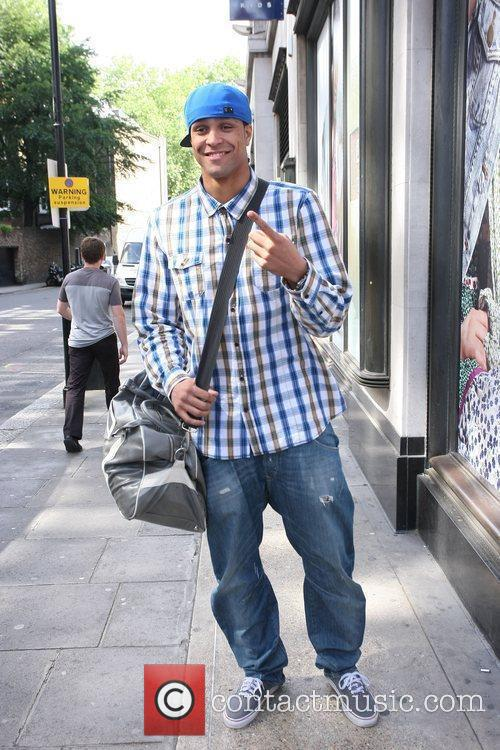 Ashley Banjo out and about in London
