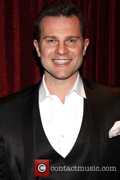 David Campbell Opening night of 'Ashley Brown In...