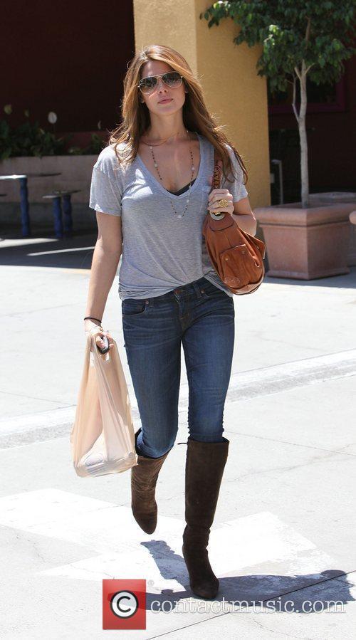 'The Twilight Saga: Eclipse' star Ashley Greene shopping...
