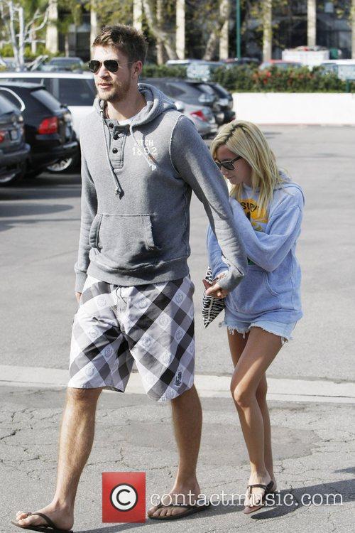 Ashley Tisdale and her boyfriend Scott Speer enjoy...