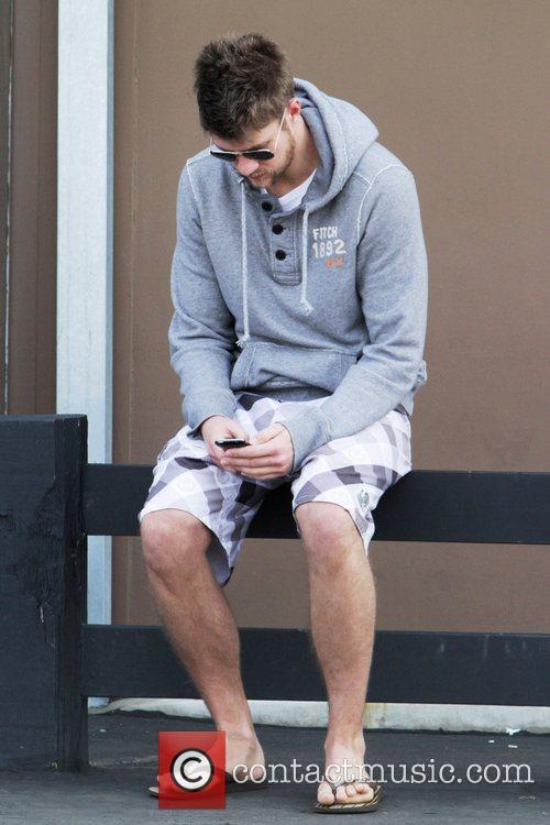 Ashley Tisdale's boyfriend Scott Speer enjoy's a sunny...