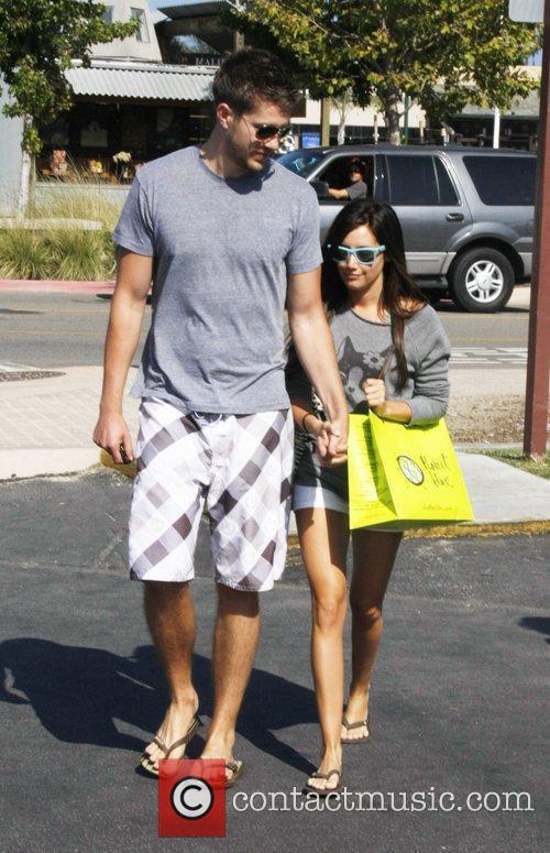 Ashley Tisdale and her boyfriend Scott Speer...