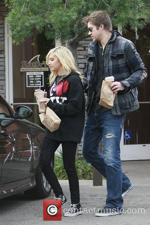 Ashley Tisdale and Boyfriend Scott Speer 3