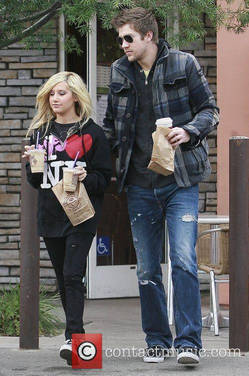 Ashley Tisdale and Boyfriend Scott Speer 1