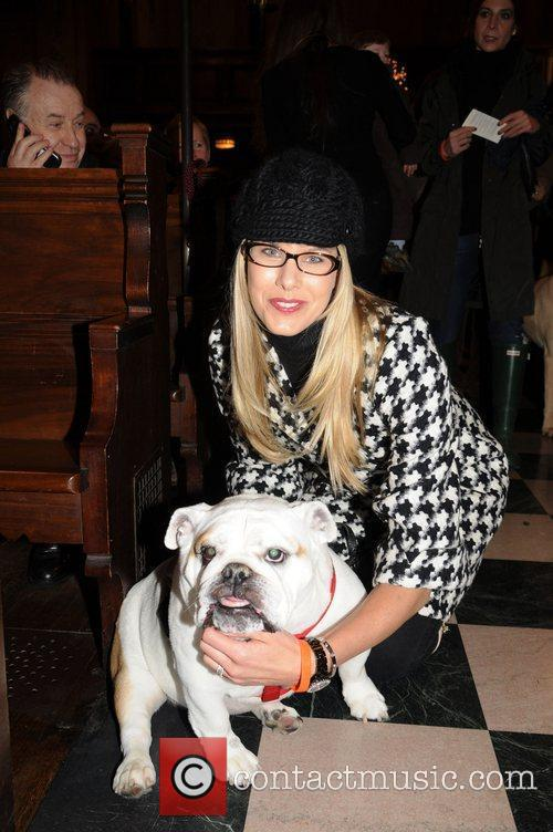Beth Ostrosky Stern and her dog Bianca...