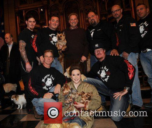 Cindy Adams and Rescue Ink New York...