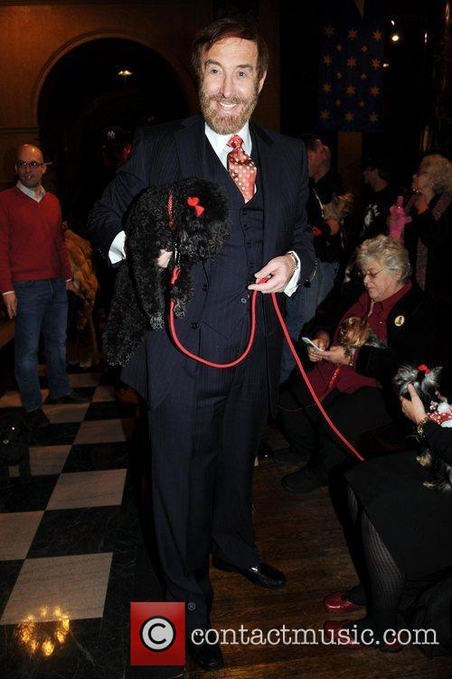 Barry Slotnick and his dog Sami  Cindy...