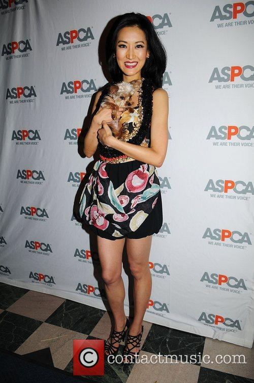 Keiko Aoki  Cindy Adams hosts New York...