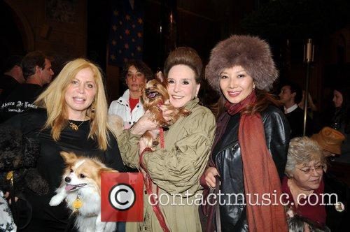 Liz Derringer, Cindy Adams and Keiko Aoki...