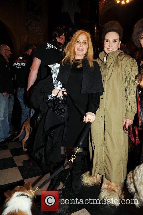 Liz Derringer, Cindy Adams  Cindy Adams hosts...
