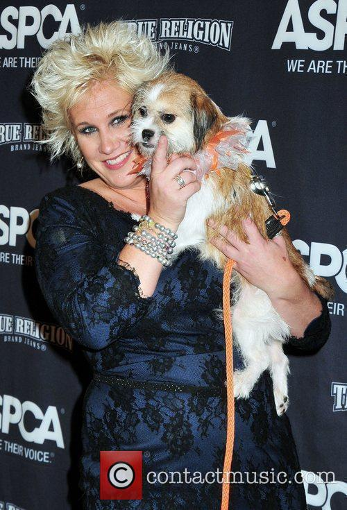 Anne Burrell at the 2010 ASPCA Young Friends...