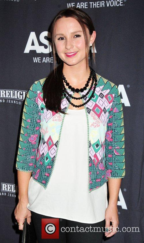 Georgina Bloomberg at the 2010 ASPCA Young Friends...