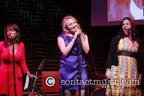 Shannon Antalan, Betsy Wolfe and Lindsay Mendez 'New...