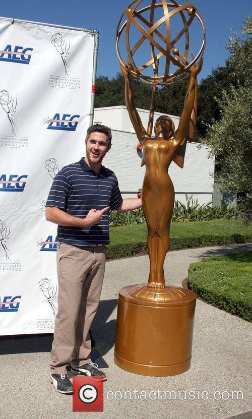 Dave Annable attends the Academy of Television Arts...