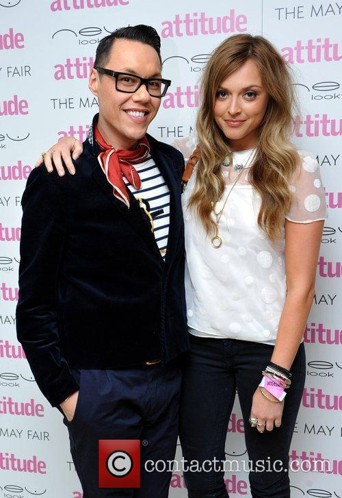 Gok Wan and Fearne Cotton Attitude's Sweet 16...