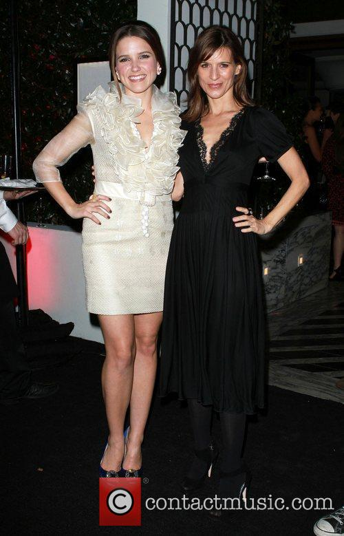 Sophia Bush, Celebration and Perrey Reeves 2