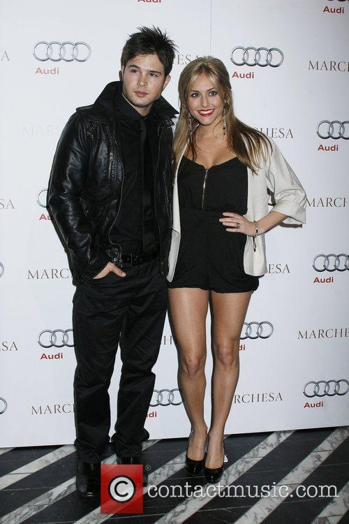 Cody Longo and Cassie Scerbo Audi and Marchesa...