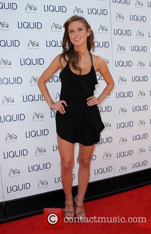 Audrina Patridge celebrates her 25th birthday at Liquid...