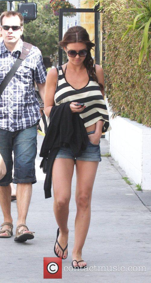Audrina Partridge out and about with friends in...