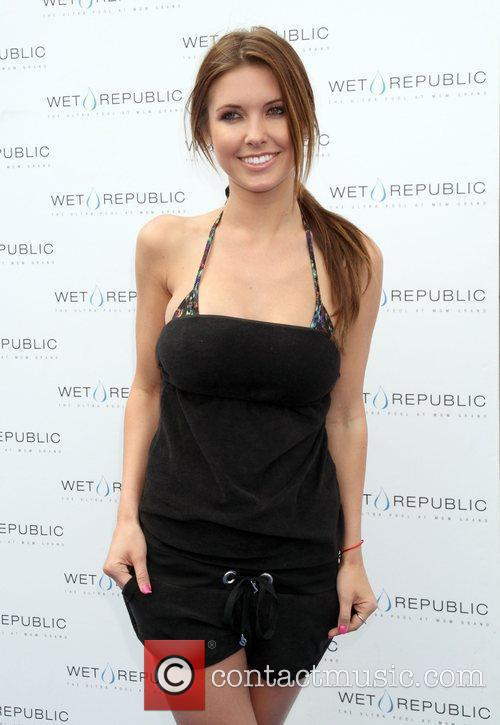 Reality star Audrina Patridge of The Hills brings...